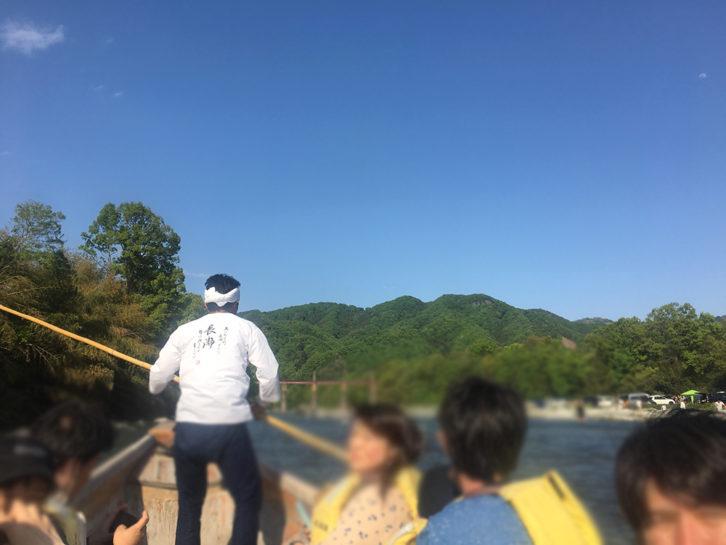 長瀞川ライン下り楽しい