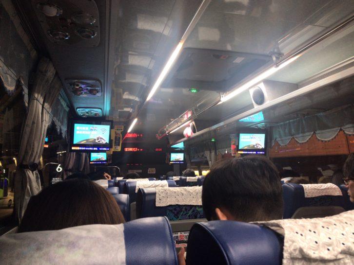 国光バス(國光客運)深夜満席