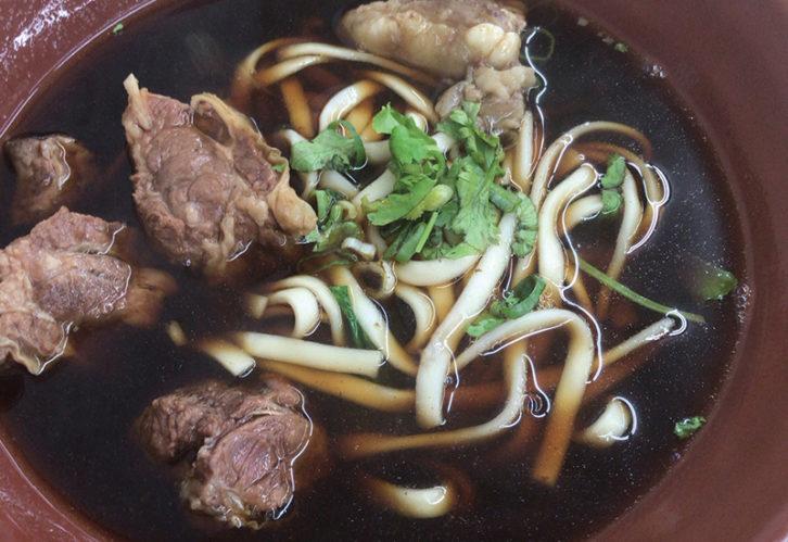 牛肉麺 西門町