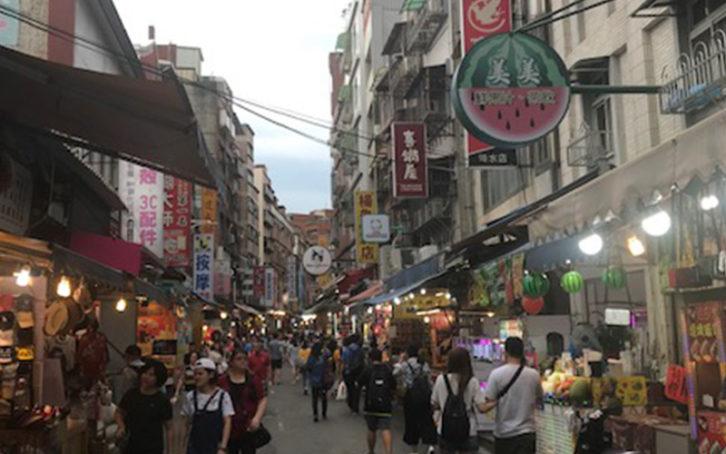 台北淡水を歩く