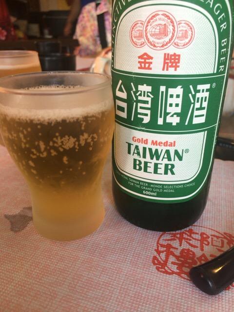 九份で台湾ビール