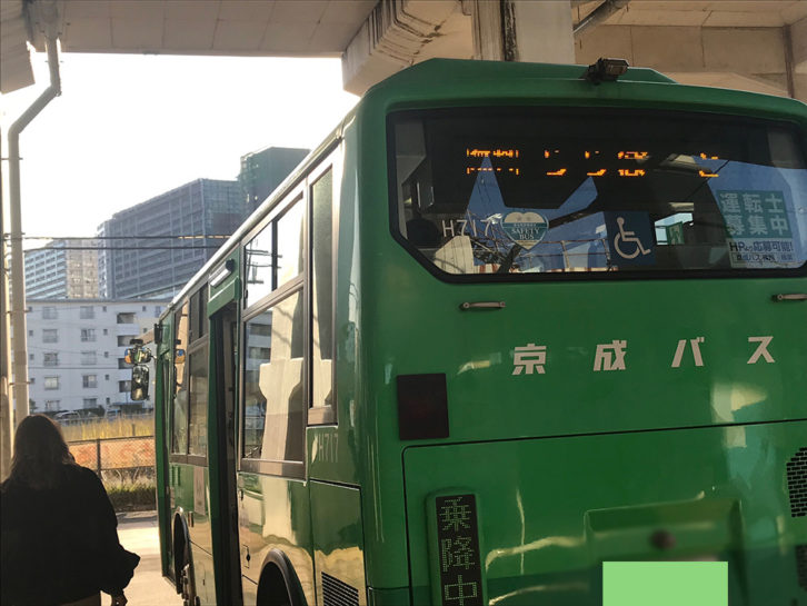 ららぽーと無料バス